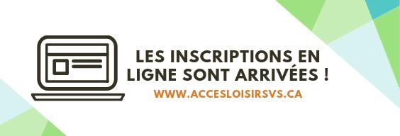 Accès-Loisirs VS En ligne