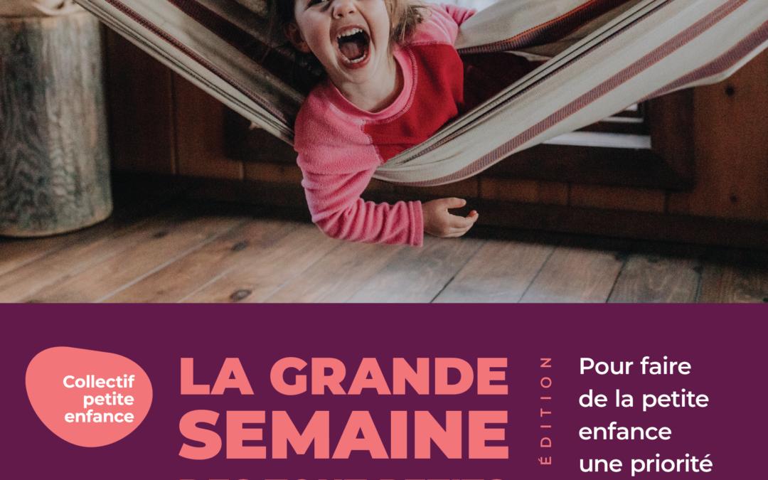 La Maison de la Famille Vaudreuil-Soulanges souligne La Grande semaine des tout-petits